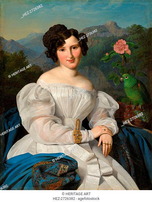 Countess Széchenyi, 1828. Creator: Ferdinand Georg Waldmüller (Austrian, 1793-1865)