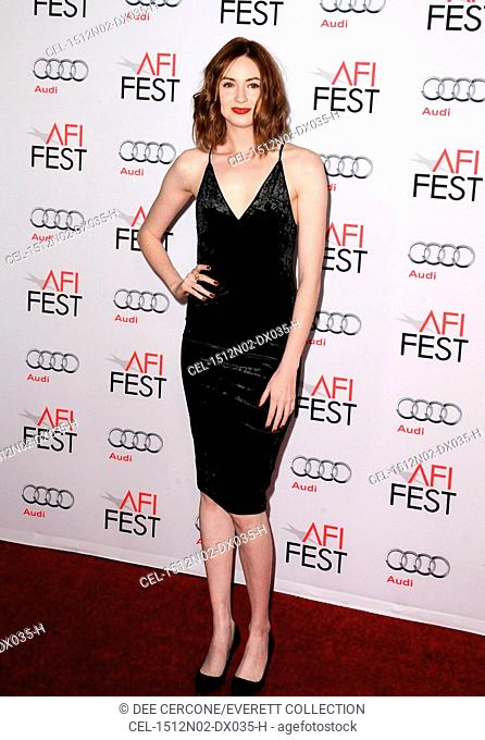 Karen Gillan at arrivals for THE BIG SHORT Premiere at AFI Fest: Closing Night Gala, TCL Chinese 6 Theatres (formerly Grauman's), Los Angeles, CA November 12