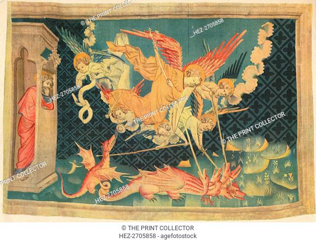 'The Apocalypse. St. Michael and his agents overcome the dragon'. Creator: Unknown