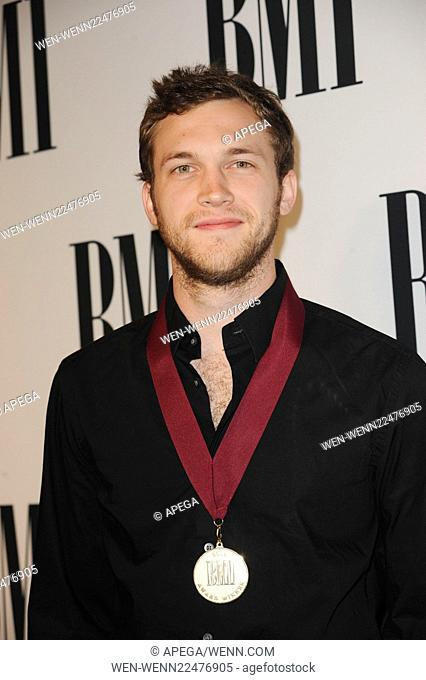 The 63rd Annual BMI Pop Awards - Arrivals Featuring: Phillip LaDon Phillips Where: Los Angeles, California, United States When: 12 May 2015 Credit: Apega/WENN