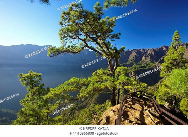 Canaries, Canary islands, isles, La Palma, Spain, Europe, outside, day, nobody, Parque Nacional de la Caldera de Taburiente, Taburiente, national park
