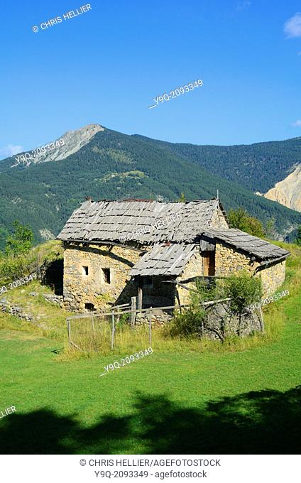 Abandoned Farmhouse between Peone and Valberg Haut-Var Alpes-Maritimes France