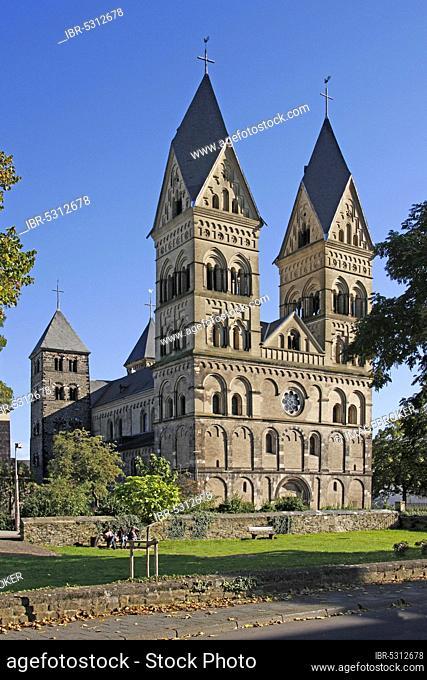 Catholic Parish Church of the Assumption of the Virgin Mary, Andernach, Rhineland-Palatinate, Mariendom, Assumption of the Virgin Mary, Germany, Europe