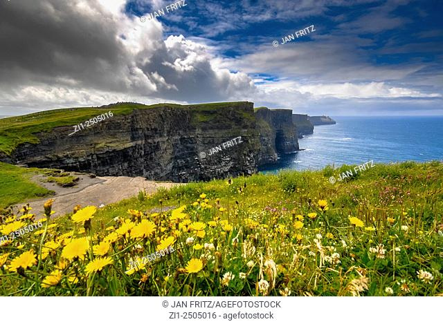 view at cliffs of Moher, Ireland