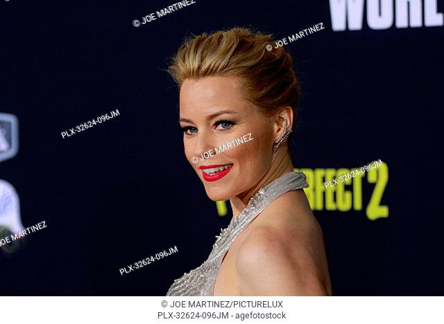 Elizabeth Banks at the World Premiere of Universal Pictures' Pitch Perfect 2 held at the Nokia Theatre L.A. Live in Los Angeles, CA, May 8, 2015