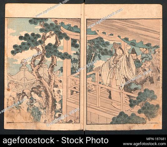 Onna Imagawa/Precepts for Women. Artist: Katsushika Hokusai (Japanese, Tokyo (Edo) 1760-1849 Tokyo (Edo)); Period: Edo period (1615-1868); Date: ca