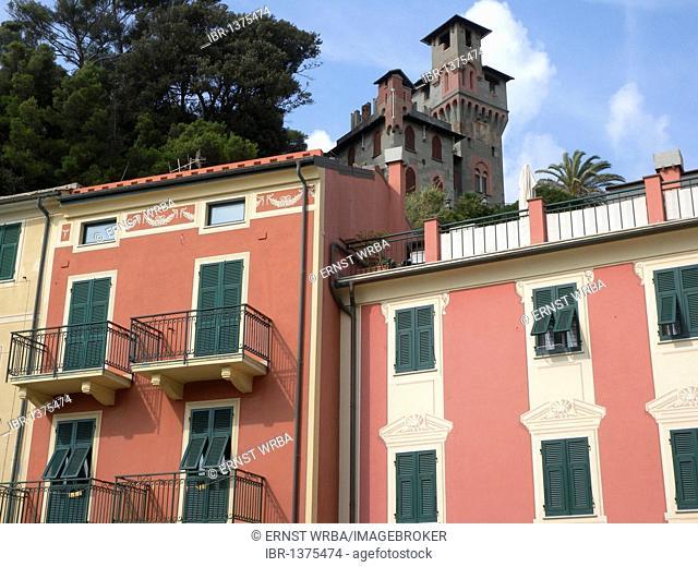 Villa, Moneglia, Riviera, Liguria, Italy, Europe