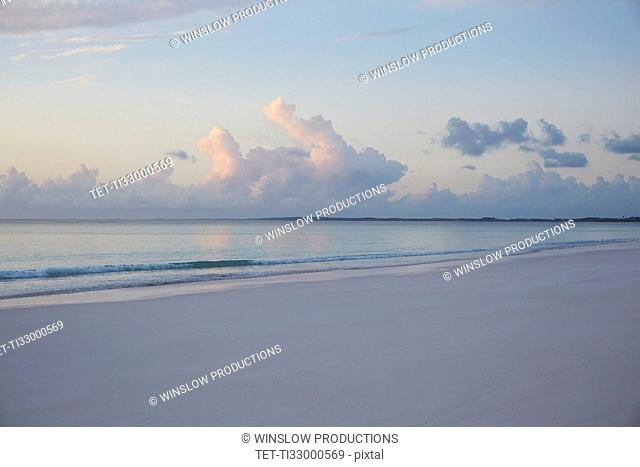 Beach with clouds