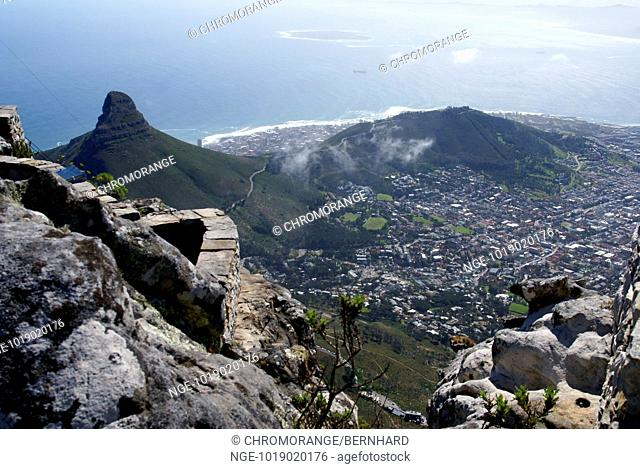Table Mountain, Cape Town, Southafrica