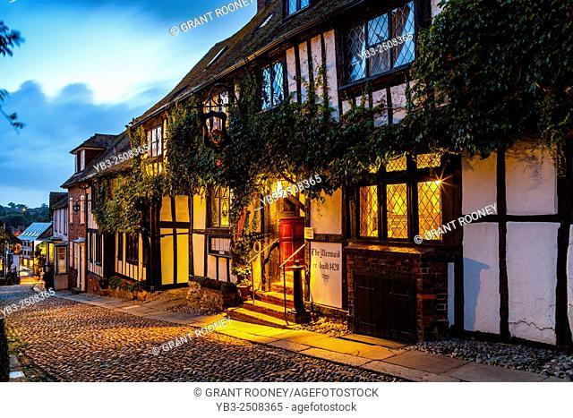 The Mermaid Inn, Mermaid Street, Rye, Sussex, UK