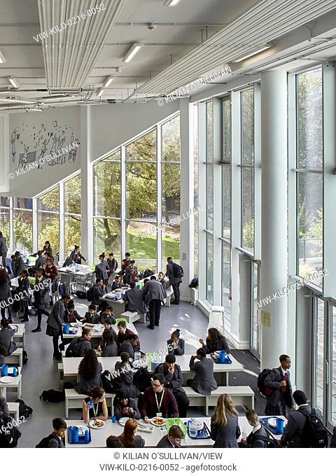 Part of a major mixed development in Kensington, Kensington Aldridge Academy provides state of the art innovative learning facil