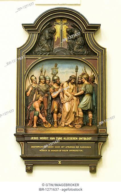 Way of the Cross, church, Hoogstraten Beguinage, Unesco World Heritage Site, Belgium, Europe