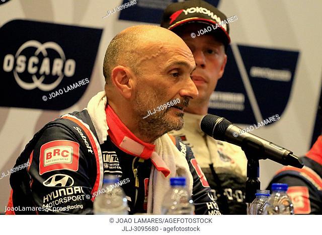 G. Tarquini, Hyundai i30 N TCR #86, WTCR Race of Portugal, Vila Real 23-25 de June 2018