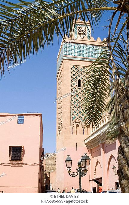 Kasbah Mosque, Marrakech, Morocco, North Africa, Africa