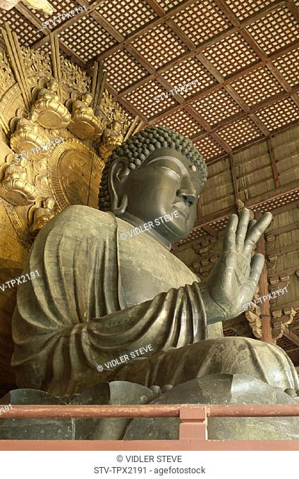 Asia, Daibutsu, Great buddha, Heritage, Holiday, Honshu, Japan, Landmark, Nara, Temple, Todaiji, Tourism, Travel, Unesco, Vacati