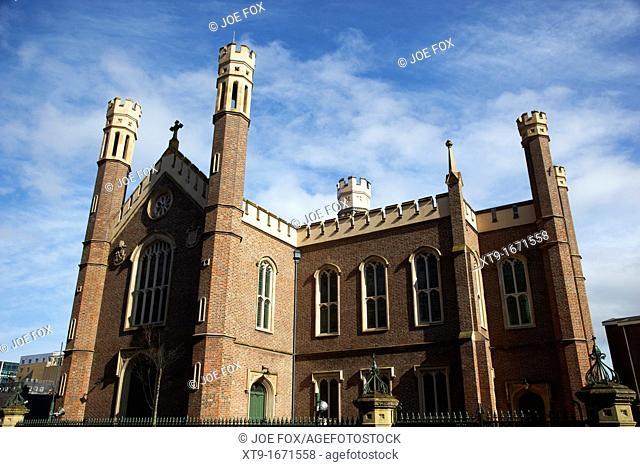 St Malachy's catholic Church alfred street Belfast Northern Ireland UK