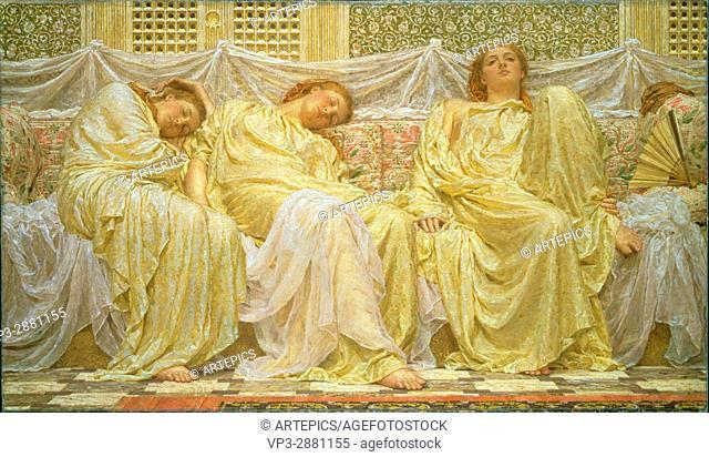 Albert Joseph Moore - Dreamers - Birmingham Museum and Art Gallery