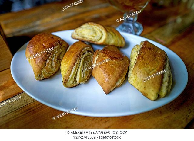 Armenian traditional pastry nazook