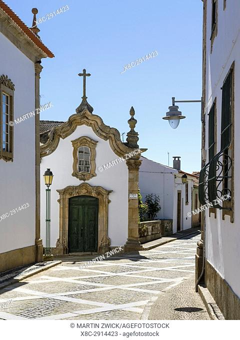 Village Vila Flor located on the hills high above river Douro. The valley of river Douro. It is the wine growing area Alto Douro and listed as UNESCO World...