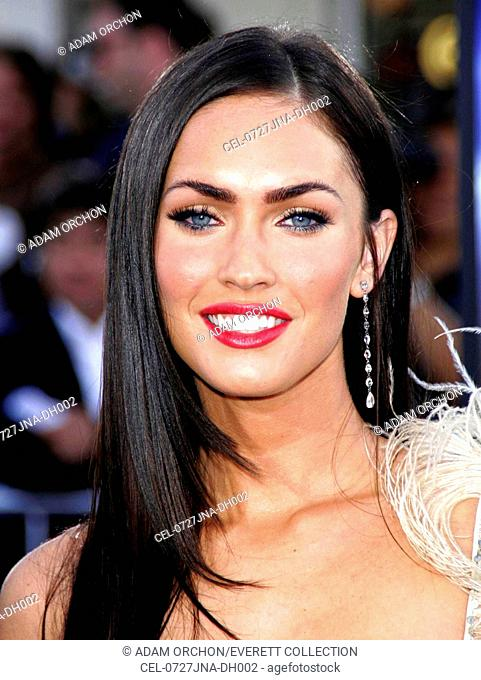 Megan Fox at arrivals for TRANSFORMERS Premiere by Paramount Pictures, Mann's Village Theatre, Los Angeles, CA, June 27, 2007
