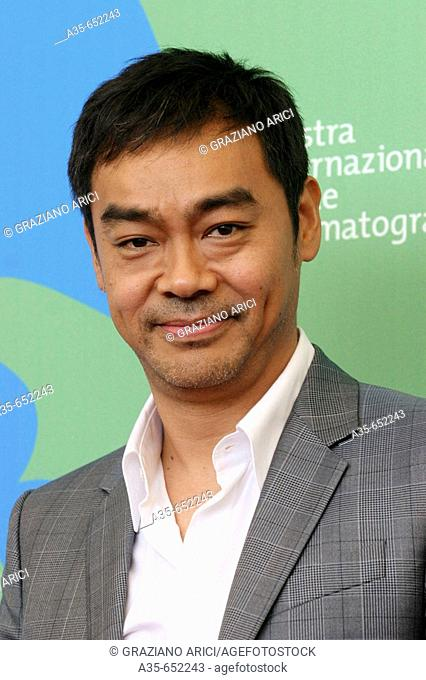 06-09-2007 - 64th Venice International Film Festival - Film 'Shentan' (Mad Detective): actor Ching Wan Lau