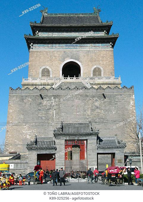 Bell tower. Beijing. China