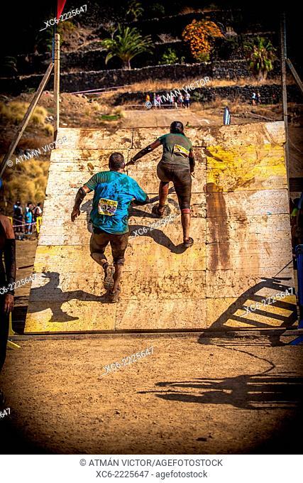 VI Canary Infinity Xtreme sports competition 2014. Puerto de la Cruz. Tenerife island. Spain