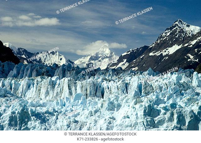 Marjorie glacier. Glacier Bay National Park. Alaska. USA