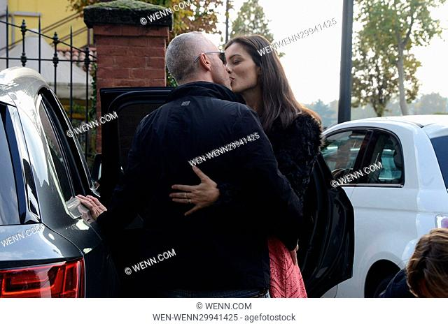Eros Ramazzotti celebrates his birthday in Milan Featuring: Marica Pellegrinelli, Eros Ramazzotti Where: Milan, Italy When: 28 Oct 2016 Credit: WENN