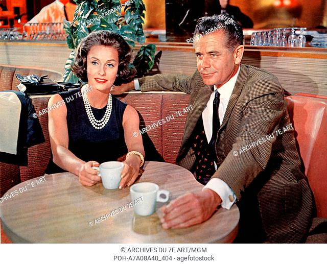 The Courtship of Eddie's Father  Year: 1963 USA Glenn Ford, Dina Merrill  Director: Vincente Minnelli. It is forbidden to reproduce the photograph out of...