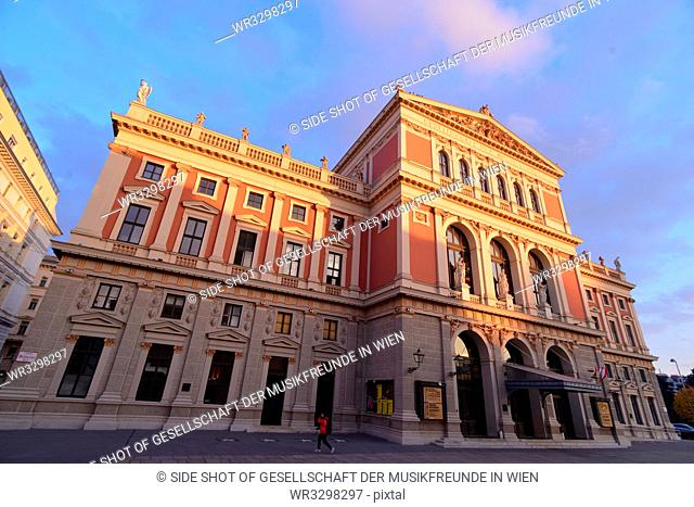 Architecture; building; ancient architecture; historical; sky; cloud; street; road; sunlight; Austria; Vienna; outdoors; color image; nobody; horizontal; day;...