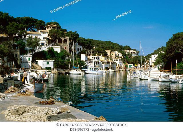 Spain, Balearic Islands, Mallorca, Majorca ,Cala Figuera