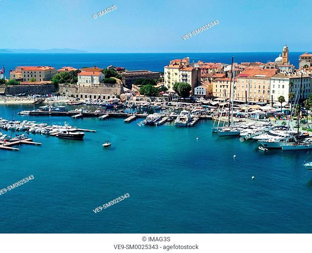 Ajaccio port, Corsica, France