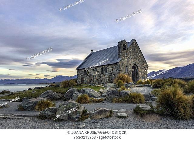 Church of the Good Shepherd, Tekapo, Canterbury, South Island, New Zealand