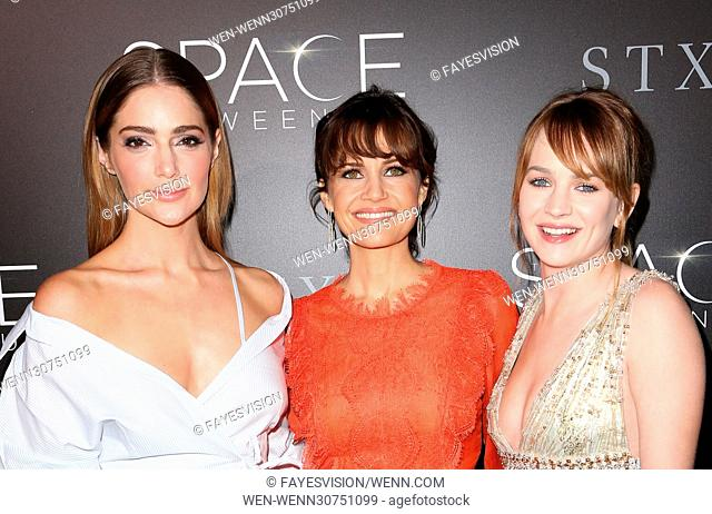 Premiere of STX Entertainment's 'The Space Between Us' - Arrivals Featuring: Janet Montgomery, Carla Gugino, Britt Roberston Where: Los Angeles, California