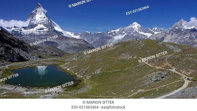 Wanderparadies Riffelsee-Matterhorn