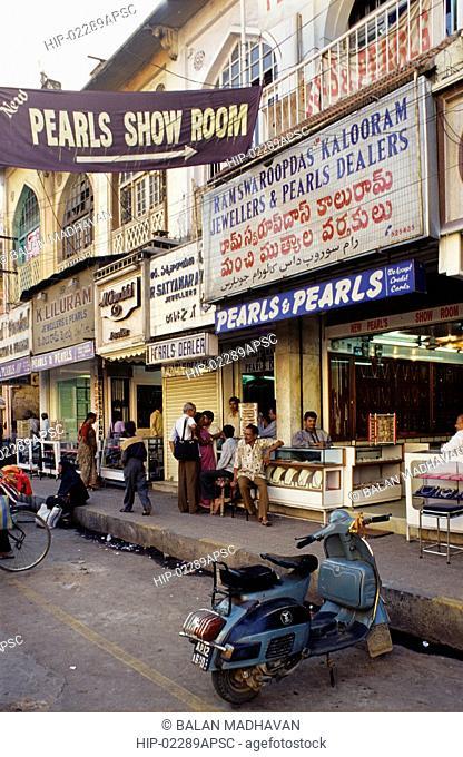 PEARL SHOP NEAR CHARMINAR, ANDHRA PRADESH,INDIA