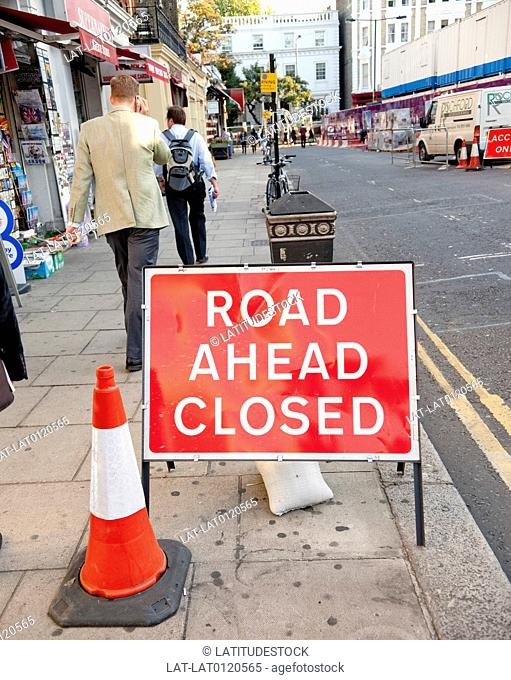 London streets are narrow and often closed for roadworks. It is not a city designed for the car