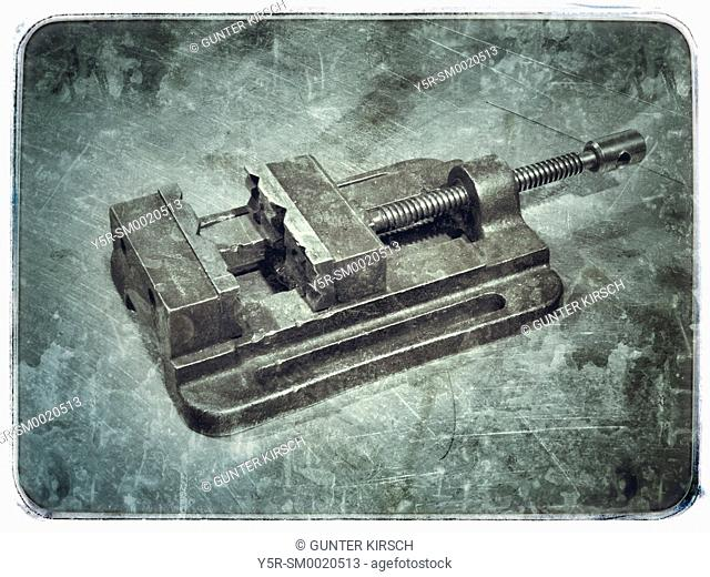 Detail Photo of a Vise