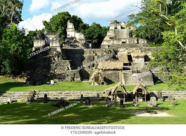 Mayan ruins of Tikal, Guatemala, Central America