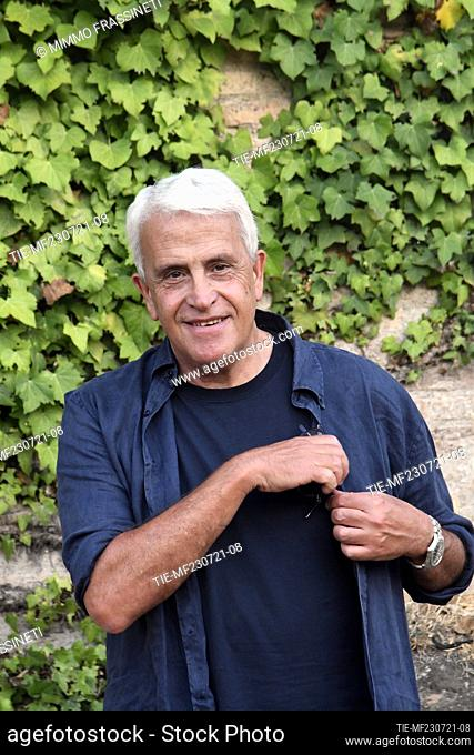 The writer Roberto Alajmo at the 20th International Literatures Festival of Rome , Rome, ITALY-23-07-2021