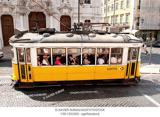 Tramway, Lisbon, Portugal
