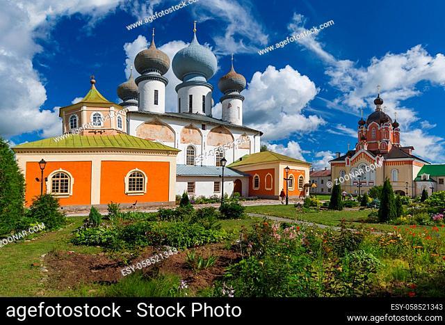Tikhvin Monastery - Leningrad region Russia