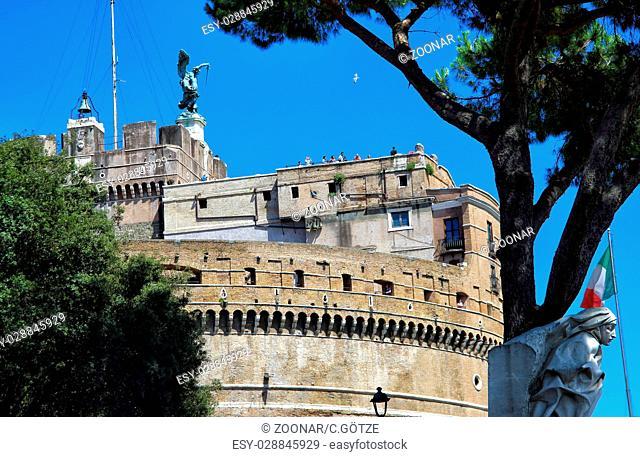 Angel's castle in Rome