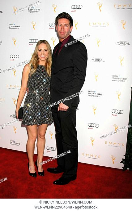 Television Academy's celebration for the 67th Emmy Award nominees for outstanding performances at Pacific Design Center - Arrivals Featuring: Joanne Froggatt