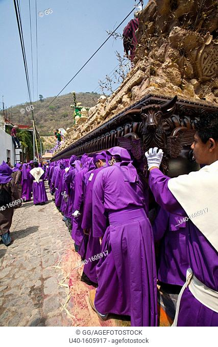 Holy Week procession, Santa Ana, Guatemala