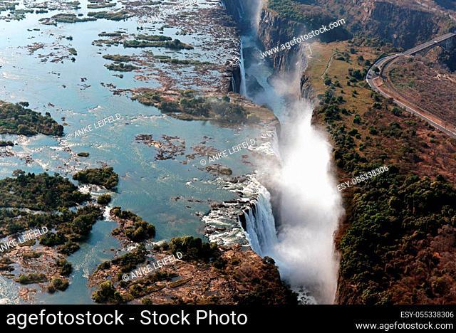 Victoria Falls, Zambezi, Zimbabwe