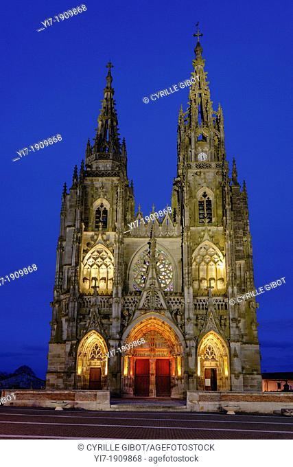 Basilique Notre-Dame de L'Épine, L'Épine, Marne, Champagne Ardennes, France