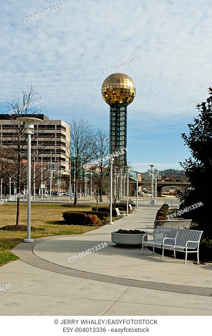 Worlds Fair Park, Sunsphere, Knoxville, Tennessee
