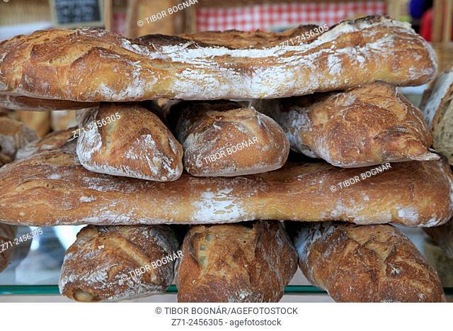 France, Bourgogne, Dijon, market, bread,